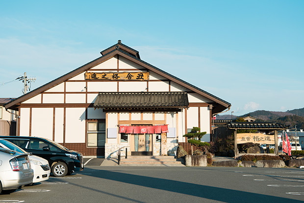 生産者に一番近いレストラン〈丑舎 格之進〉。格之進の「総本店」として2004年にオープン。