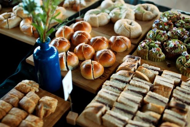 過去のパン祭りの様子。