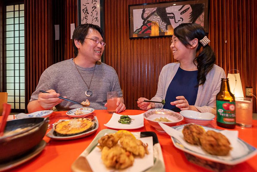 弘前〈菊富士〉酒と郷土料理を通じてかみしめる幸せ