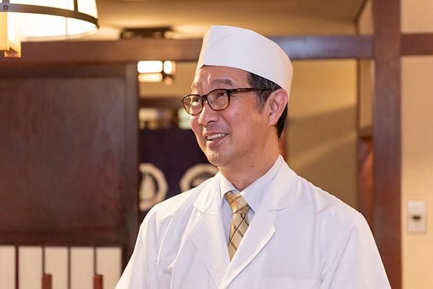 菊富士の板垣重敏社長兼本店長