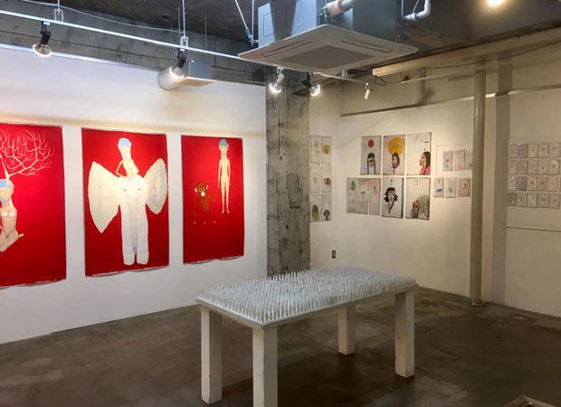 庭ビルで5月25日まで開催された『みんなと絵本とMAYA MAXX』展。(写真提供:MAYA MAXX)