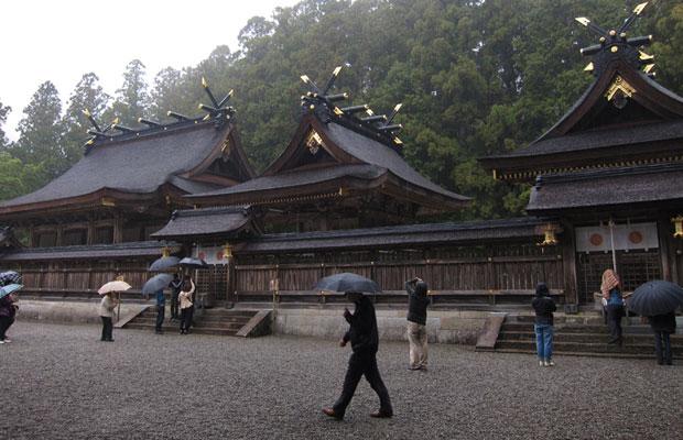熊野本宮大社。