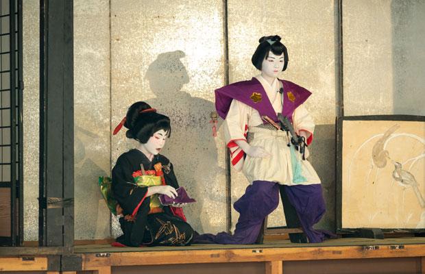 6年ぶりに共演したふたり。今年は子ども歌舞伎に出演。