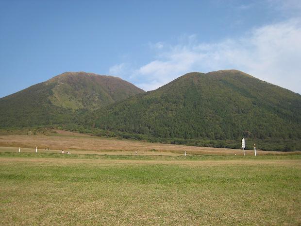 自然豊かな三瓶山