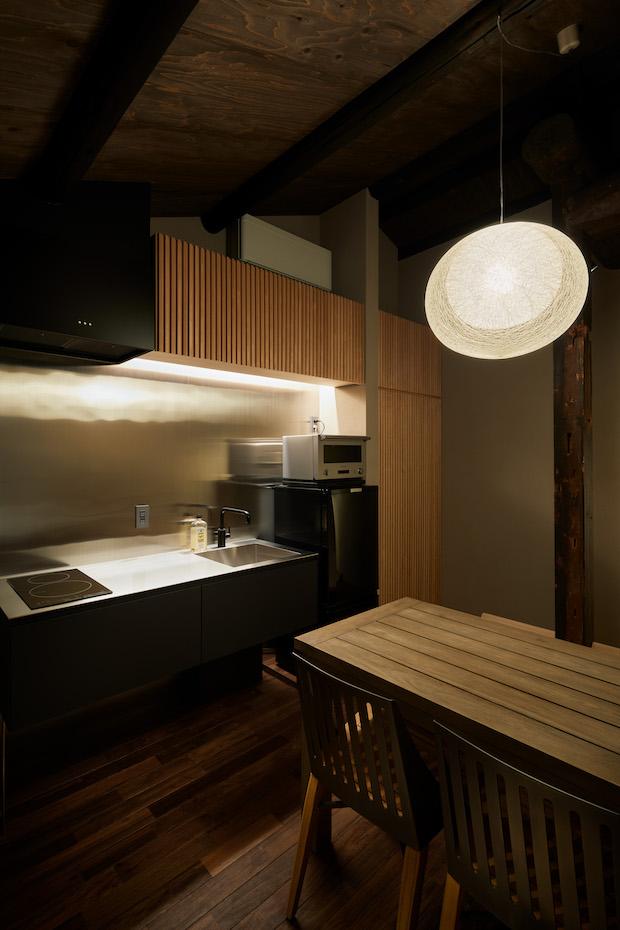 〈suki1038御所東弐〉のキッチン