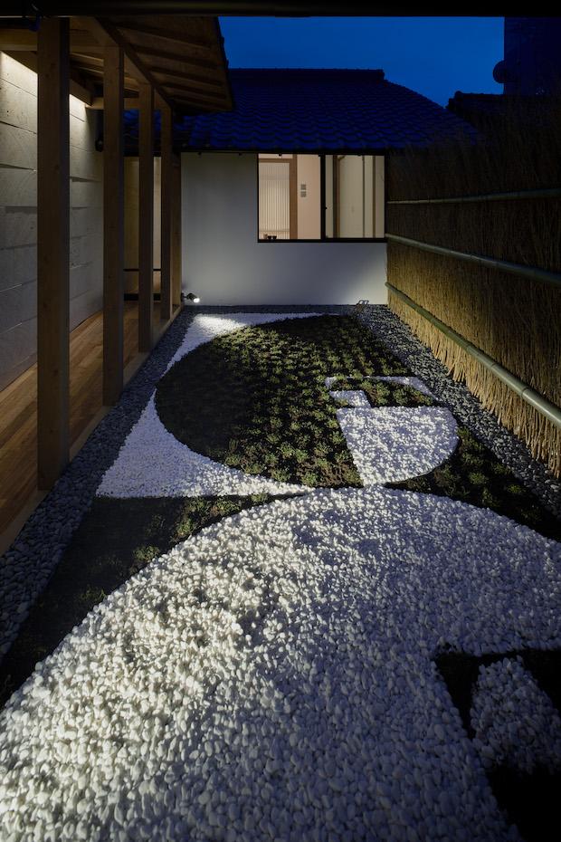 〈suki1038御所東弐〉の坪庭