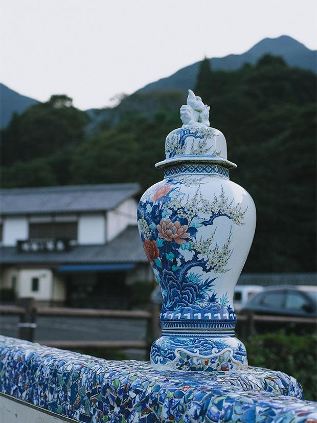 佐賀県伊万里市にある焼き物の里、大川内山。