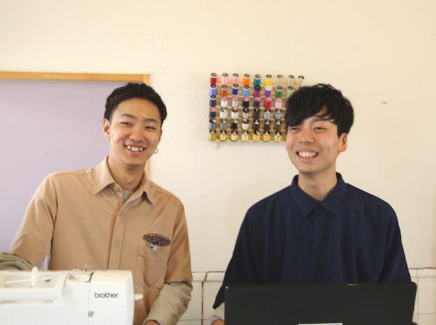 左:三橋伸樹さん 右:田中雄貴さん