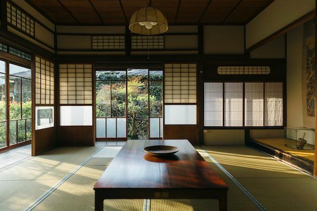 もともとは「茶園」と呼ばれる貴重な別荘建築