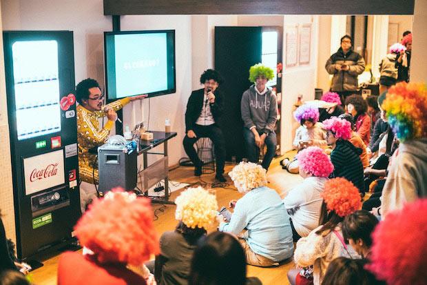 改良湯の脱衣所ではトークショー「せんとーく」を開催。ゲストは「日本みかんサミット」主催者であり、みかんの専門家として「マツコの知らない世界」にも登場した清原優太さん。