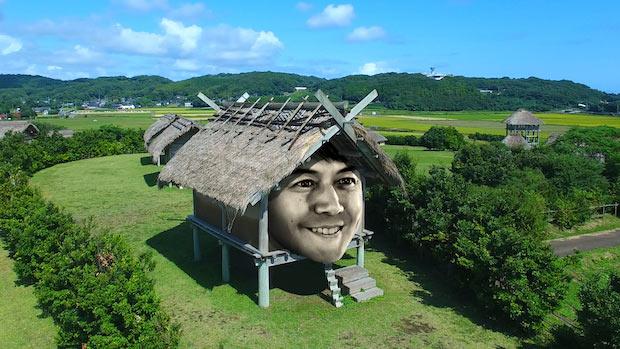 壱岐の「原の辻遺跡」。弥生時代の重要な遺跡として、日本の特別史跡に指定されている。