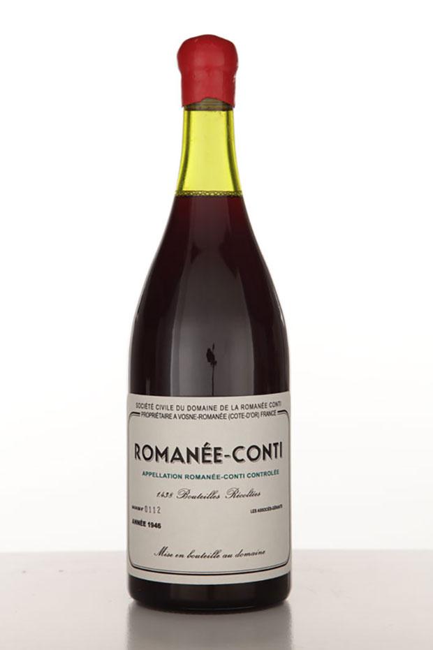 DRC 1946 2007 (c)Nicolas Boulard ロマネ・コンティの偽物のワイン。