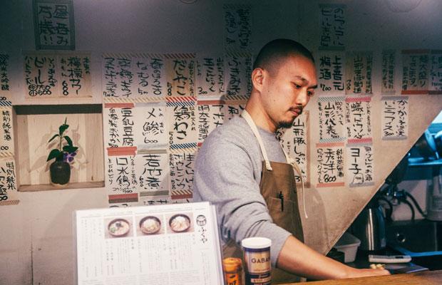 友人宅で初めて出会い、京都店の店長を務めることになった伊藤拓見さん。