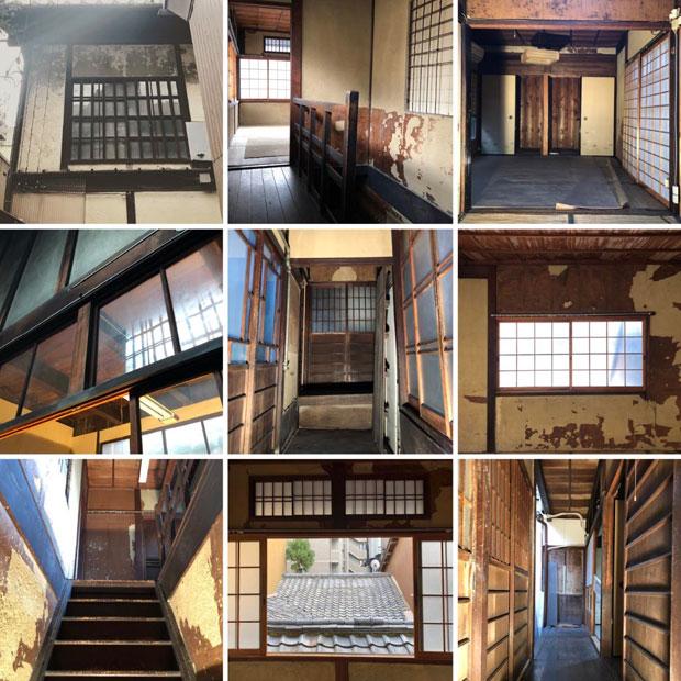 京都・烏丸御池に6月下旬オープン予定の〈ふくや京都〉。現在町家を改装中で、カウンター席、立ち飲み席、座敷席など用途に応じて使い分けられるようなお店になるという。(写真提供:ふくや)