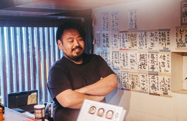 ふくや店主ヤマカワマサヨシさん