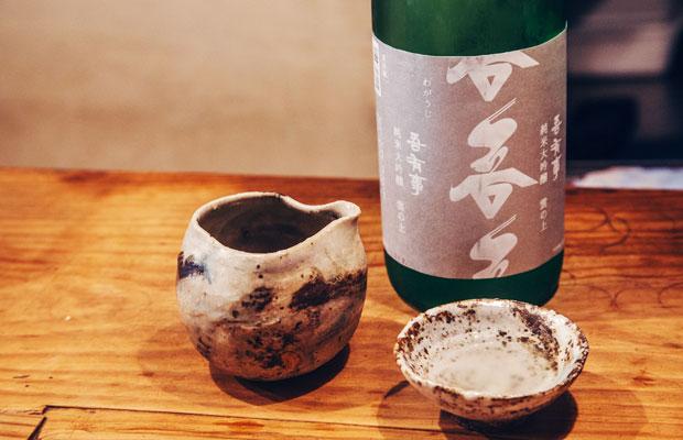 ふくやが扱う日本酒はすべて酒どころでもある山形のもの。現在は、常時20種類ほどの銘柄を取り揃えている。