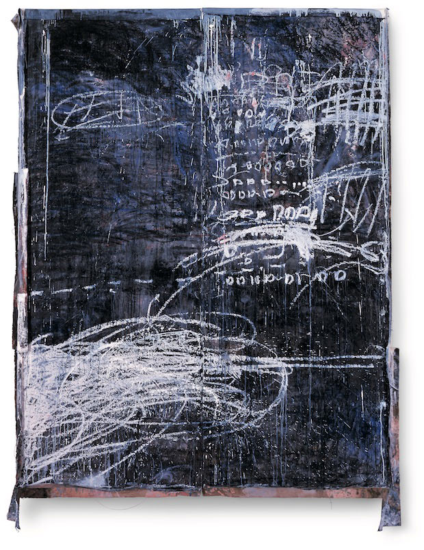 《浮遊するビルの大きな肖像》 2002年 広島市現代美術館蔵(c) Shinro Ohtake, Courtesy of Take Ninagawa, Tokyo, Photo by Kei Okano