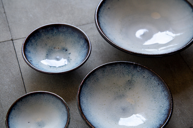 島根の窯元の皿