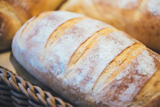 薪小屋で食べたパン