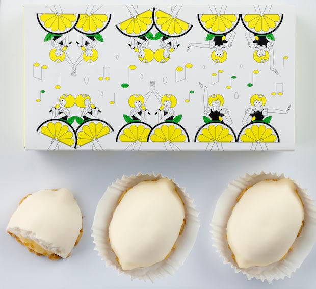 〈<生>レモンケーキ〉3個入