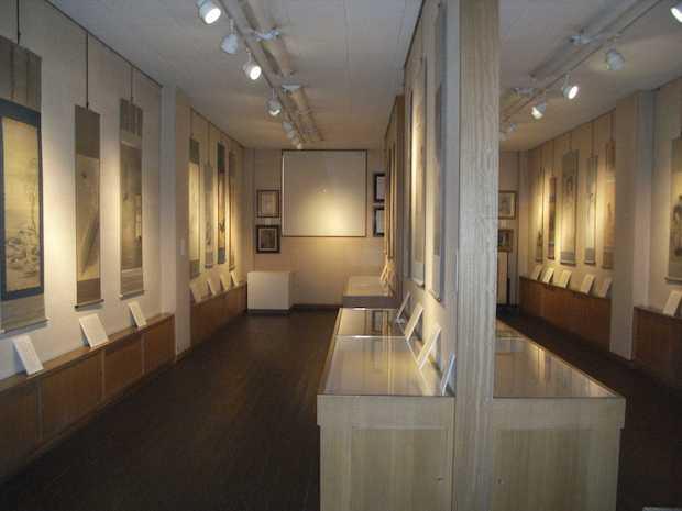 幽霊画展 展示室