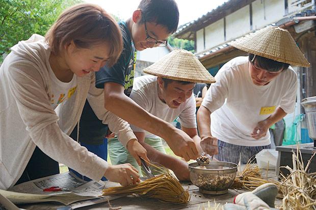 過去の学生合宿の参加者には、その後〈地域おこし協力隊〉になったメンバーも。