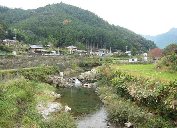 神川町の風景。