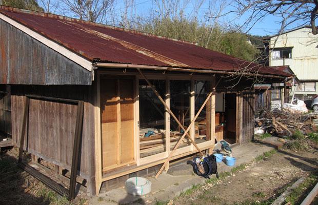 建具は熊野産のヒノキでできています。