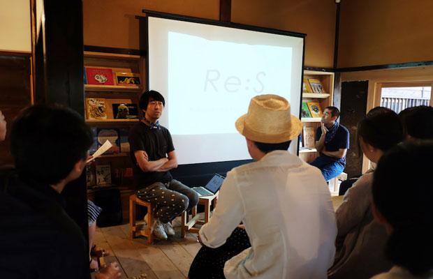 kitorasuでの「うなぎの寝床カルチベートトーク」。ゲストは藤本智士さん。