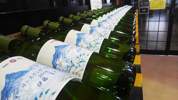 ぶどう生産者の名前が入る個別ワイン。
