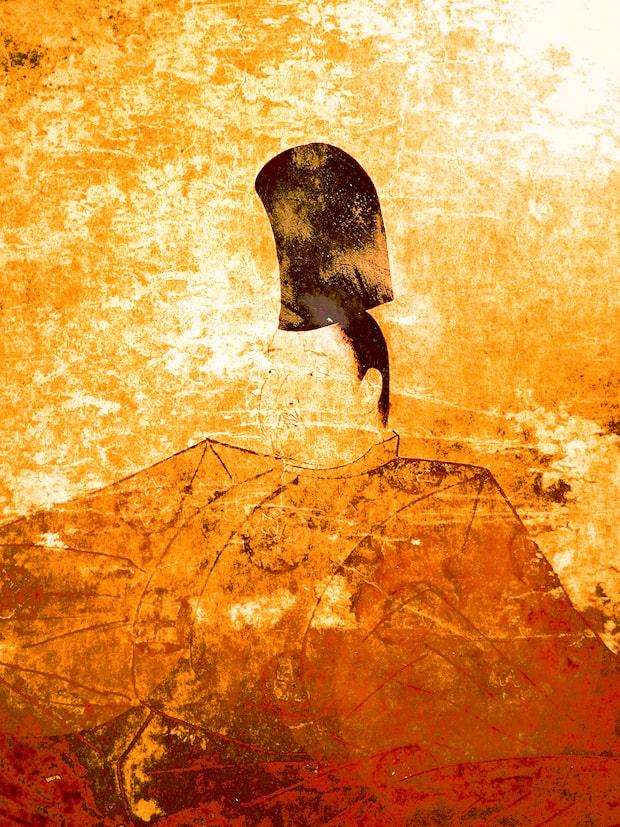 後鳥羽院御影(複製隠岐神社蔵)