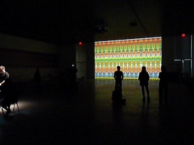 ゲルハルト・リヒター『ライヒ リヒター ペルト』展示風景 The Shed(2019年、ニューヨーク)