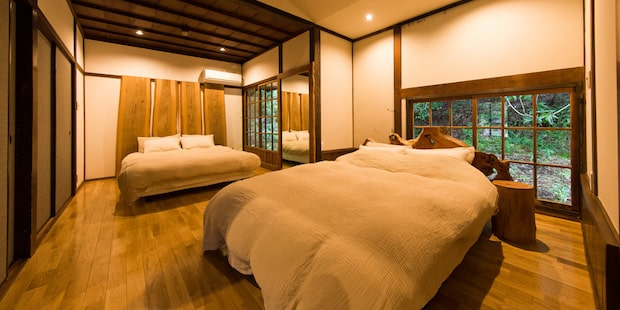 星岳のベッドルーム