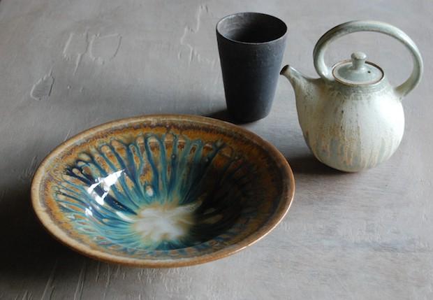 久保田由貴さんの陶器
