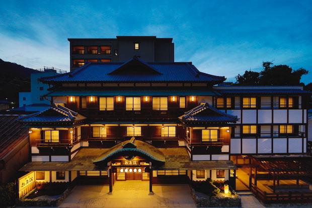 国の文化財に指定された香川の老舗旅館〈敷島館〉が新築オープン