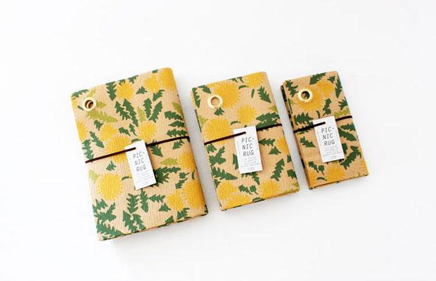 ガーデンエリアに出店する、即戦力ですぐれもののラグなどピクニックにまつわる雑貨や本がたくさんの〈ヒシガタ文庫〉(札幌)。