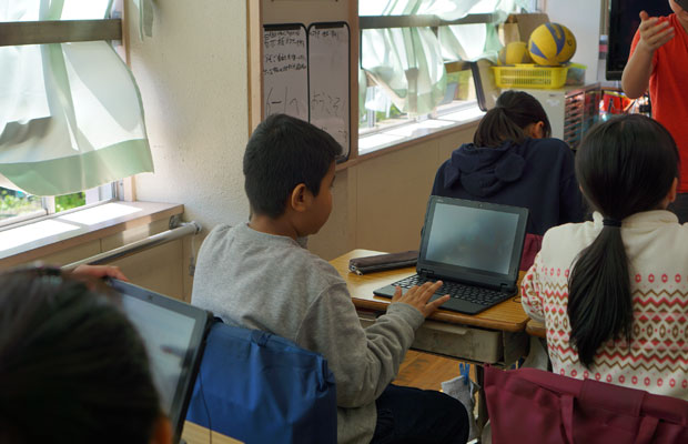 さまざまな文化的背景を持つ子どもたちが、ともに学ぶ。