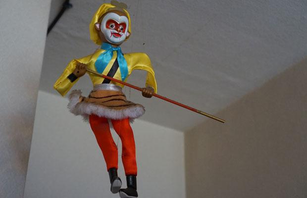 豊島区在住の中国籍の方のお部屋に飾られていた、京劇の人形。
