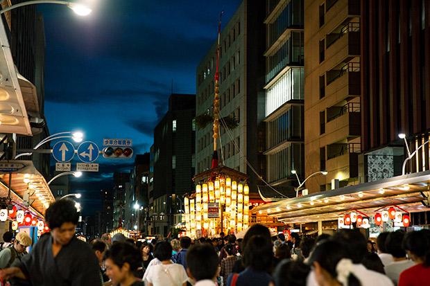 祇園祭の宵々山