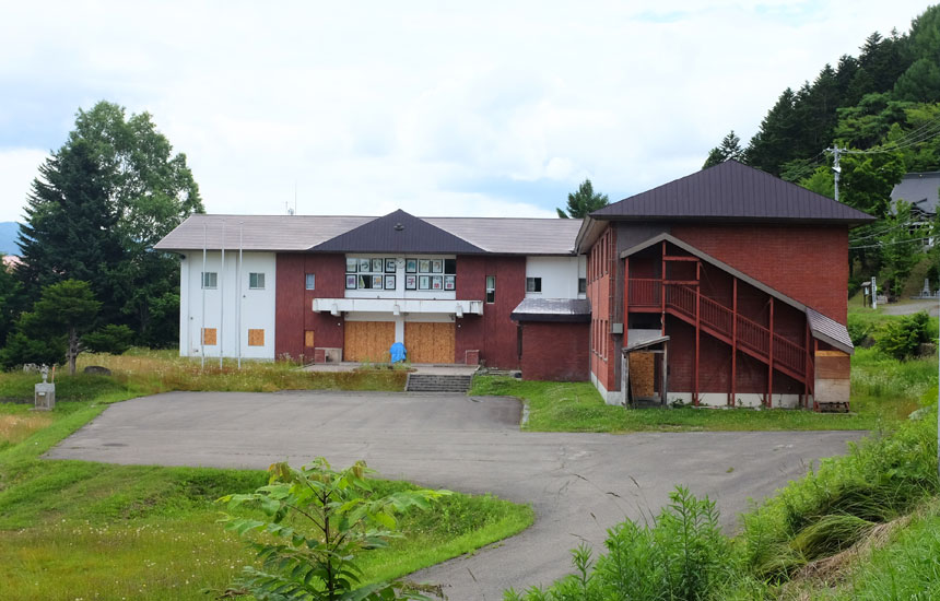 閉校した美流渡の小中学校を活用して  〈森の学校 ミルト〉をつくりたい!