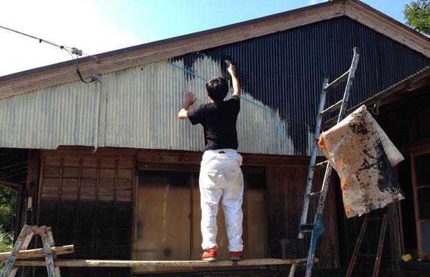 ガンギを塗装します。