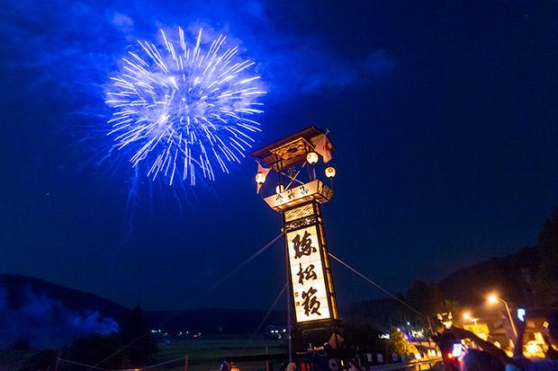 新宮納涼祭と花火の風景
