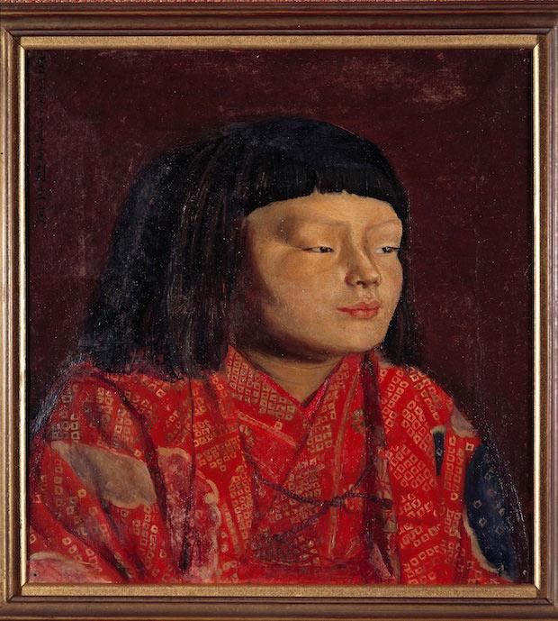 岸田劉生「童女像」 1923年東山家蔵