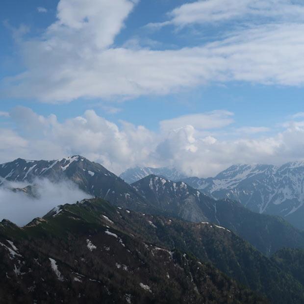 丹沢周辺の山々