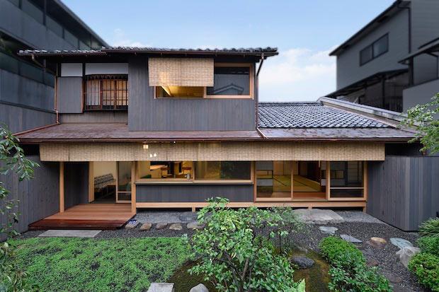 〈京の温所 西陣別邸〉外観