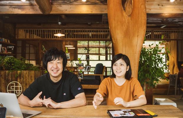 左が日野正基さん、右が土屋望生さん。