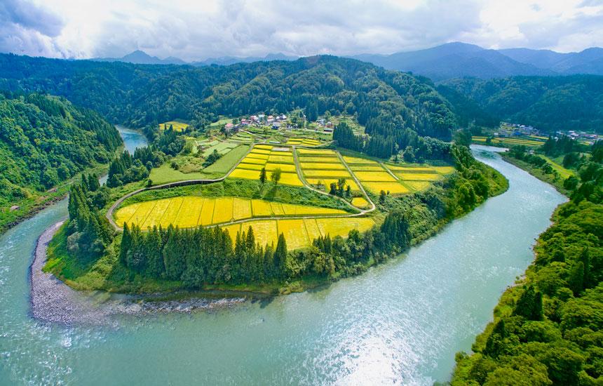 """""""幻の米""""〈小滝米〉を引き継ぐ。  300年後の未来を開く  長野県栄村小滝集落への里山ツアー"""
