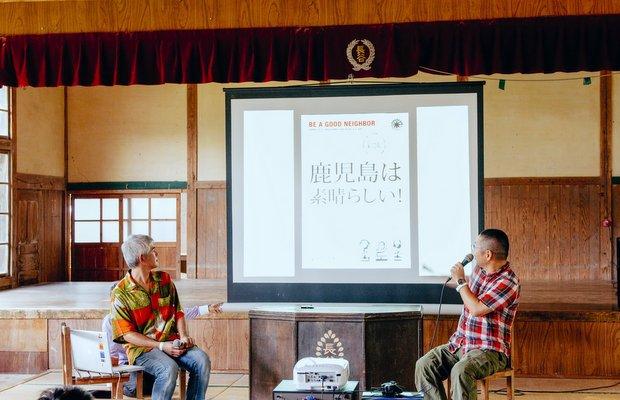 第1回のジャンボリーで岡本さんが自著について語る。