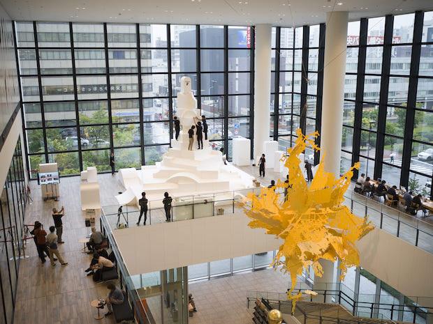 作品の設計は、国内外で活動する札幌の建築家・五十嵐淳氏が、市民参加のコーディネートは、まちづくりプランナーとしてまちの再生や賑わいづくりに取り組む酒井秀治氏が担当。