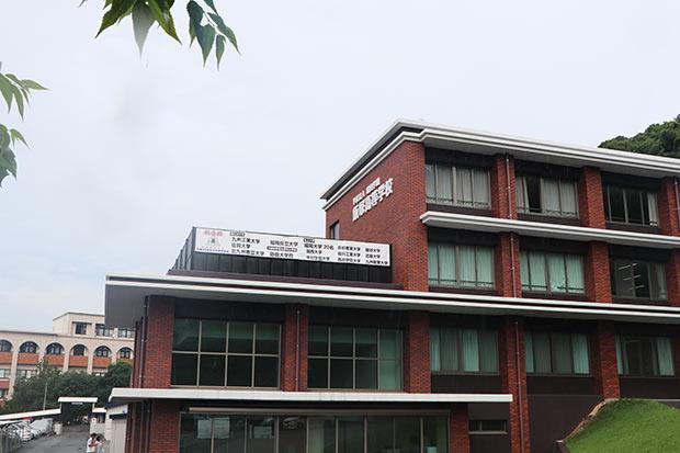 「muguet」の3人が通う飯塚高校。
